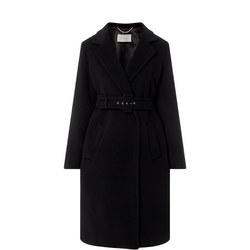 Uvetta Belted Wrap Coat