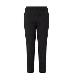 Fado Wool Pinstripe Trousers