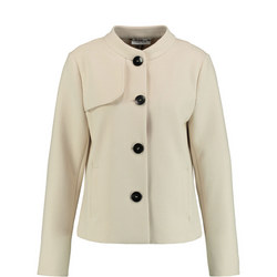 Tailored Button Jacket