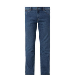 Brushed Texas Straight Fit Jeans