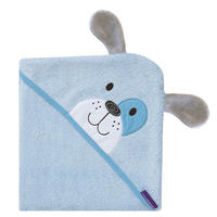 Patch the Puppy Bamboo Apron Baby Bath Towel