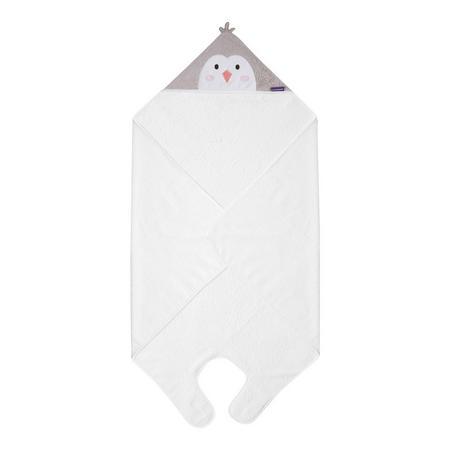 Pebbles the Penguin Bamboo Apron Baby Bath Towel