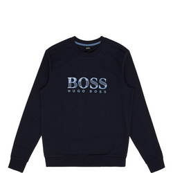 Crew Neck Logo Sweat Top