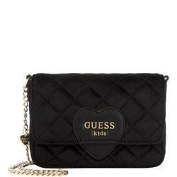 Girls Velvet Crossbody Bag
