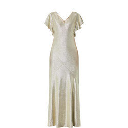 Flutter Sleeve Gown