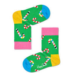 Kids Candy Cane Socks