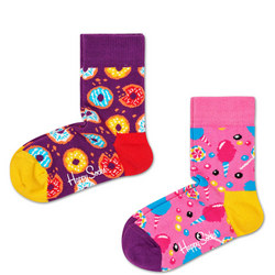 Kids Two-Pack Sweets Socks
