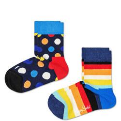 Babies Two-Pack Big Dot Socks