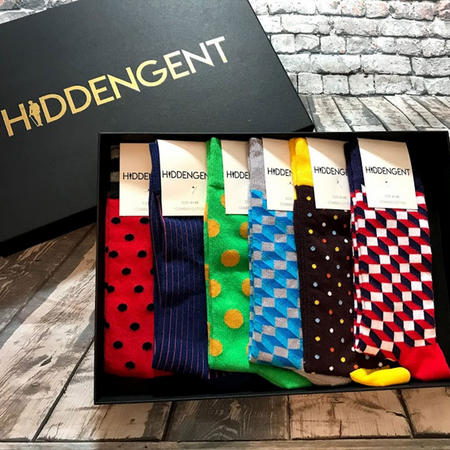 Luxury Six-Pack Sock Box