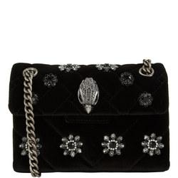 Kensington Mini Velvet Shoulder Bag