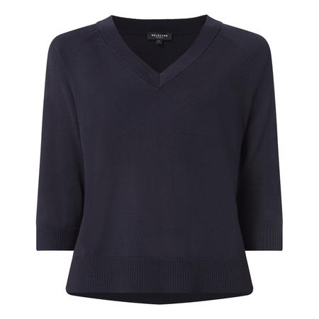 Thea Cropped Sleeve Sweater