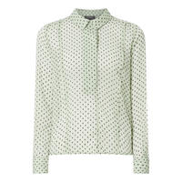 Jill Sheer Dot Blouse