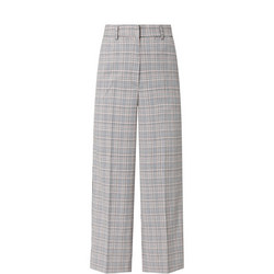 Stella Check Trousers