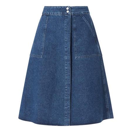Hannah Denim Midi Skirt