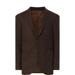 Herringbone Wool Blend Jacket