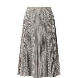 Suzu Pleated Midi Skirt