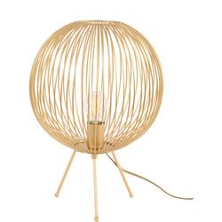 Tova Gold Spherical Tripod Table Lamp