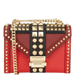 Whitney Studded Small Shoulder Bag