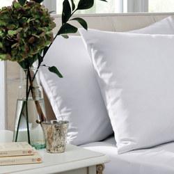 200 Thread Count Cotton Percale Standard Pillowcase Pair White