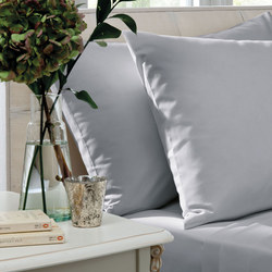 200 Thread Count Cotton Percale Fitted Sheet White