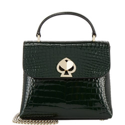 Romy Croc Embossed Mini Bag