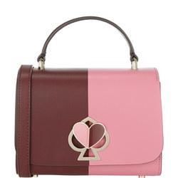 Nicola Bicolour Top Handle Small Shoulder Bag