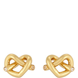 Love Me Knot Stud Earrings