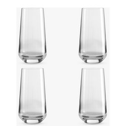 Design Project by John Lewis No.018 Highball Glasses 500ml Clear Set of 4
