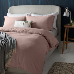 Croft Collection Hallie  Duvet Cover Rosa