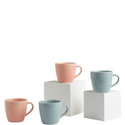 Woodland Mugs  Set of Four