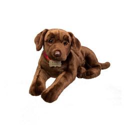 Plush Chocolate Labrador 18 Inches