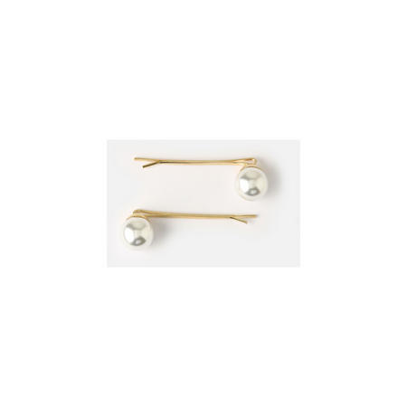 Two-Pack Faux Pearl Clips