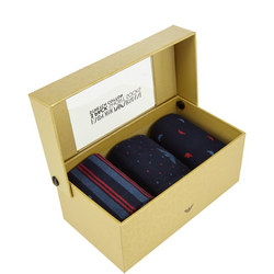 Three-Pack Dot and Stripe Socks Gift Set