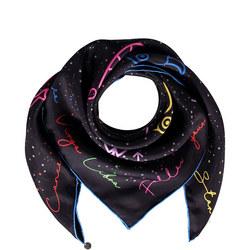 Zodiac Silk Scarf