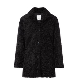 Natja Faux-Fur Teddy Coat
