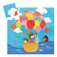 Hot Air Balloon 16-Piece Puzzle