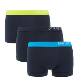 Three-Pack Side Logo Trunks