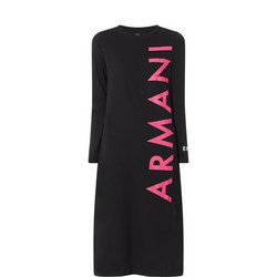 Vertical Logo Dress