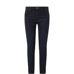 Boyfriend Coated Jeans