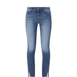 Skinny Slit Jeans