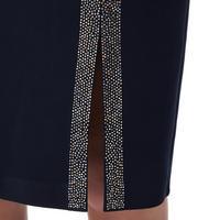 Crystalline Split Hem Dress