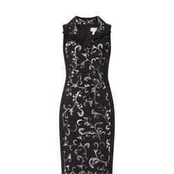 Filigree Print Dress