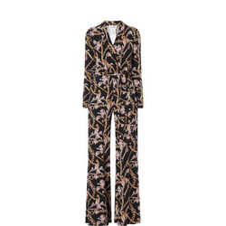 Floral And Filigree Jumpsuit