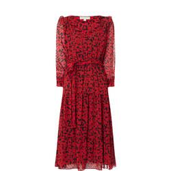 Leaf Midi Dress
