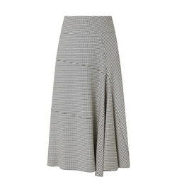 Godet Midi Skirt