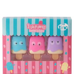 Lolly Lip Balms Set Of Three