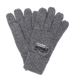 Knitted Logo Gloves