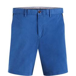 Blue Twill Denton Shorts