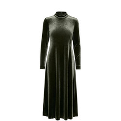 Oriell Velvet Dress