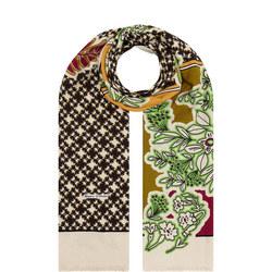 Floral Multi-Print Scarf